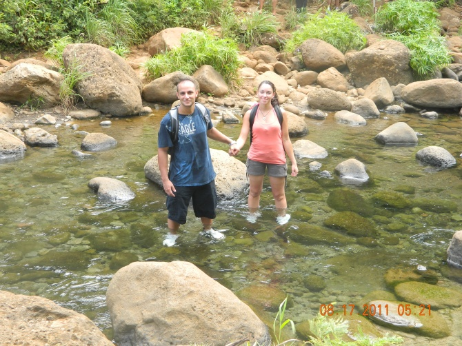 Hiking the Kalalau Trail in Kauai, Hawaii 2011!