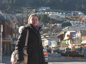 Walking the streets in Queenstown, New Zealand!