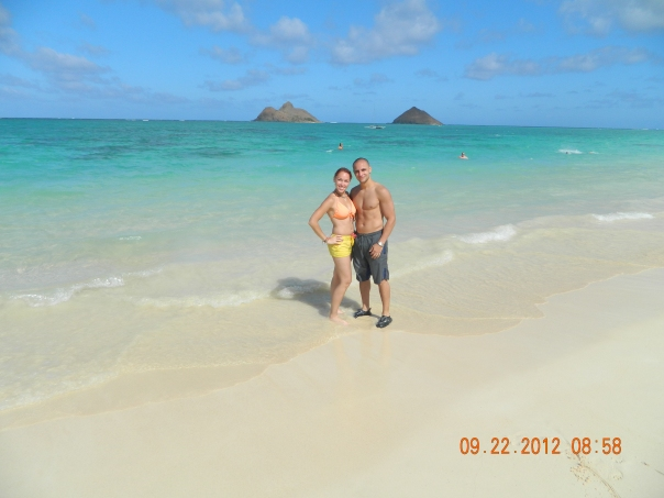 Lenikai Beach in Oahu, Hawaii 2012!