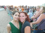 Catherine from Hawaii Five-o with my wife before the Premire!