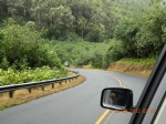 On the way to the famous road to Hana in Maui, Hawaii to find the Red and Black sand Beaches!