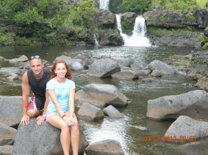 The 7 sacred pools and water falls in Hana, hawaii!