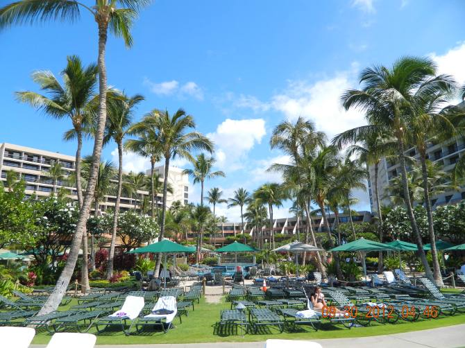 We stayed in 2012 here at the Marriott Kaanapali in Maui, Hawaii.