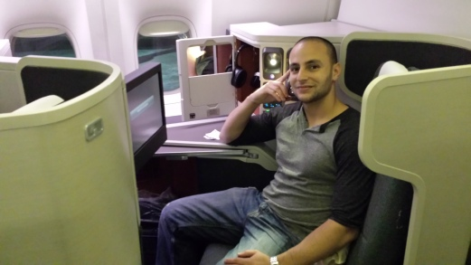 Cathay Pacific new business class seats!