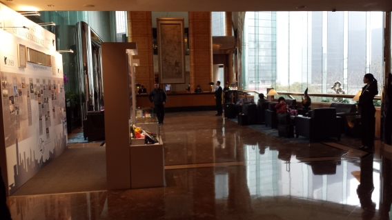 More pictures of the hotel main lobby which was huge!