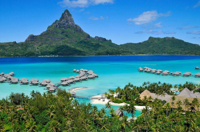 The Intercontinental Thalasso and spa in Bora Bora.