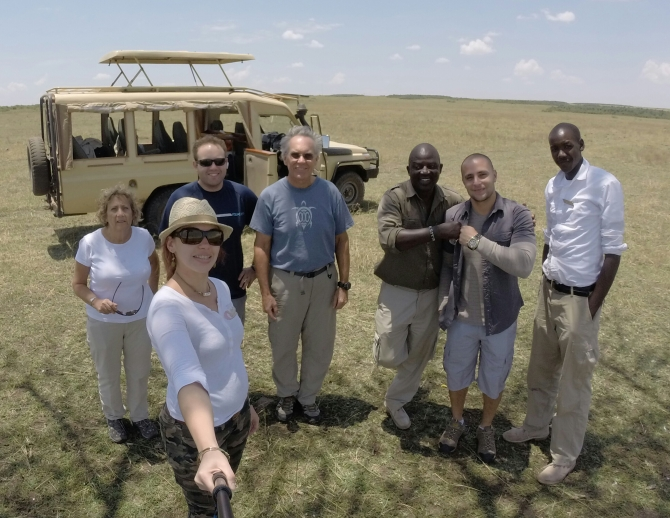 Our amazing safari group guide Henry.